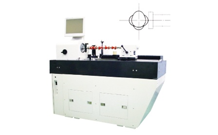 Camshaft shape measuring machine